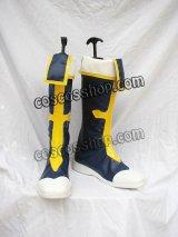 BLAZBLUE ブレイブルー ジン・キサラギ風 コスプレ靴 ブーツ
