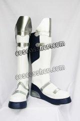 悪魔城ドラキュラ 蒼月の十字架 来須蒼真風 コスプレ靴 ブーツ