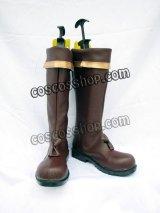 ゼクトバッハ叙事詩 The Epic of Zektbach 第三章 ノクス・カトルセ風 コスプレ靴 ブーツ