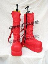 ONE PIECE ワンピース ペローナ風 コスプレ靴 ブーツ