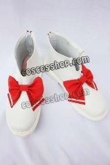 東方Project レミリア・スカーレット風 コスプレ靴 ブーツ