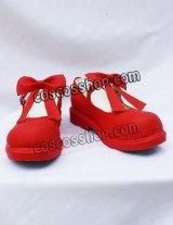 カードキャプターさくら 木の本桜風 02 コスプレ靴 ブーツ