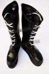 家庭教師ヒットマンREBORN! ザンザス風 コスプレ靴 ブーツ