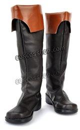 07-GHOST セブンゴースト テイト=クライン風 コスプレ靴 ブーツ