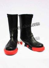シルバー風 コスプレ靴 ブーツ