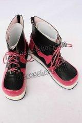 しき 結城夏野風 コスプレ靴 ブーツ