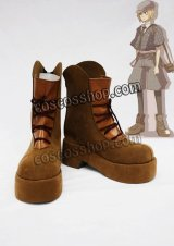 Axis powers ヘタリア スイス バッシュ・ツヴィンクリ風 コスプレ靴 ブーツ