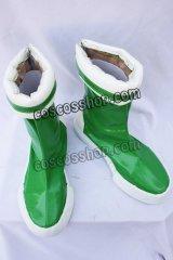 出ましたっ!パワパフガールズZ 松原かおる風 コスプレ靴 ブーツ
