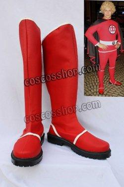 画像1: アメリカン・ヒーロー The Greatest American Hero ラルフ・ヒンクリー風 コスプレ靴 ブーツ