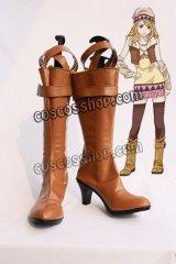 TIGER & BUNNY タイガー・アンド・バニー ブルーローズ カリーナ・ライル風 コスプレ靴 ブーツ