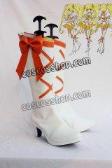 プリキュア 明堂院樹風 キュアサンシャイン コスプレ靴 ブーツ