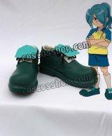 イナズマイレブン 風丸一郎太風 かぜまるいちろうた コスプレ靴 ブーツ