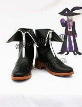 オオカミさんと七人の仲間たち マジョーリカ・ル・フェイ風 コスプレ靴 ブーツ