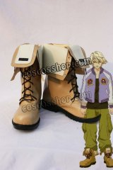 TIGER & BUNNY 折紙サイクロン風 イワン・カレリン 02 コスプレ靴 ブーツ