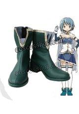 魔法少女まどか☆マギカ 美樹さやか風 コスプレ靴 ブーツ