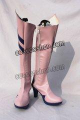 新世紀エヴァンゲリオン 惣流・アスカ・ラングレー風 03 コスプレ靴 ブーツ
