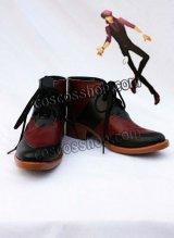 TIGER & BUNNY ブラックタイガー風 コスプレ靴 ブーツ