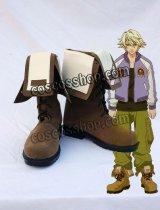 TIGER & BUNNY 折紙サイクロン風 イワン・カレリン コスプレ靴 ブーツ