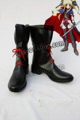 魔法少女リリカルなのは フェイト風 戦闘服 コスプレ靴 ブーツ