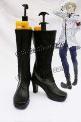 ギルティクラウン ダリル・ヤン風 コスプレ靴 ブーツ