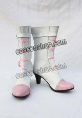 マクロスF 超時空要塞マクロス シェリル風 ウェディング コスプレ靴 ブーツ