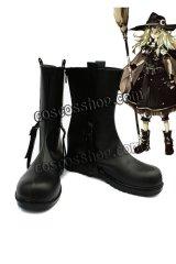 スカーレット・シンフォニー 霧雨魔理沙風 コスプレ靴 ブーツ