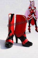 フレッシュプリキュア! キュアパッション イース風 コスプレ靴 ブーツ