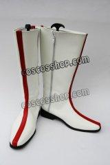 ヒーロー ストロンガー風 コスプレ靴 ブーツ