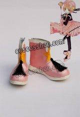 カードキャプターさくら 木之本桜風 06 コスプレ靴 ブーツ