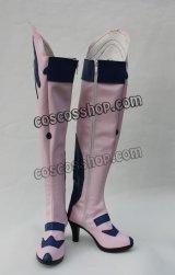 新世紀エヴァンゲリオン 真希波・マリ・イラストリアス風 コスプレ靴 ブーツ