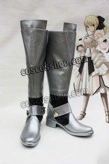Fate/unlimited codes フェイト/アンリミテッドコード セイバー風 コスプレ靴 ブーツ