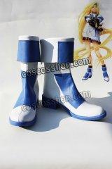 GG ギルティギア GUILTY GEAR ミリア=レイジ風 コスプレ靴 ブーツ