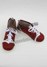 シャーマンキング 玉村たまお風 コスプレ靴 ブーツ