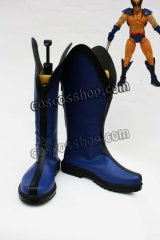 X-メン x-men ウルヴァリン風 Wolverine コスプレ靴 ブーツ