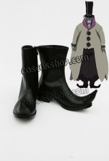 D.Gray-man 千年伯爵風 コスプレ靴 ブーツ