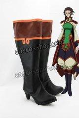 コードギアス反逆のルルーシュ ジョウ・チャンリン風 コスプレ靴 ブーツ