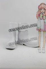 AKB0048 藍田織音風 コスプレ靴 ブーツ