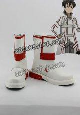 ソードアート・オンライン キリト風 03 コスプレ靴 ブーツ
