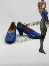 英雄伝説 碧の軌跡 フラン風 コスプレ靴 ブーツ