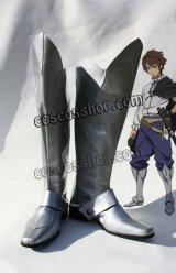聖剣の刀鍛冶 ルーク・エインズワース風 コスプレ靴 ブーツ