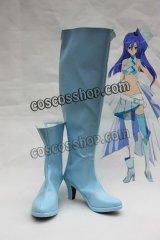 戦姫絶唱シンフォギア 風鳴翼風 かざなりつばさ コスプレ靴 ブーツ