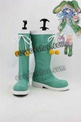 デート・ア・ライブ 四糸乃 よしの風 コスプレ靴 ブーツ