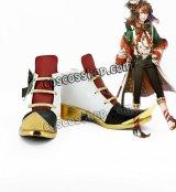 夢王国と眠れる100人の王子様 不思議の国 三月ウサギ風 コスプレ靴 ブーツ