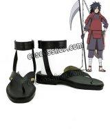 NARUTO -ナルト- うちはマダラ風 コスプレ靴 ブーツ