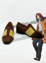 英雄伝説 碧の軌跡 ランディ·オルランド風 コスプレ靴 ブーツ