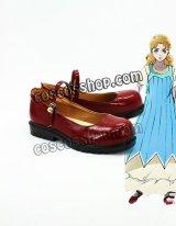 ジョジョの奇妙な冒険 エリナ風 コスプレ靴 ブーツ
