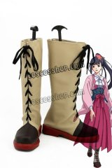 甲鉄城のカバネリ 四方川菖蒲風 よもがわあやめ コスプレ靴 ブーツ