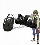 甲鉄城のカバネリ 生駒風 いこま コスプレ靴 ブーツ