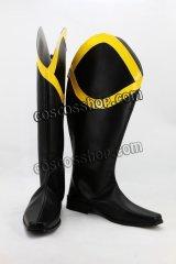ヒーロー 結城凱 ブラックコンドル風 コスプレ靴 ブーツ