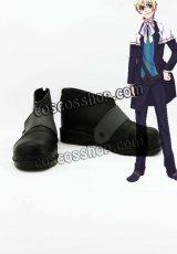 魔界王子 devils and realist ウイリアム・トワイニング風 コスプレ靴 ブーツ